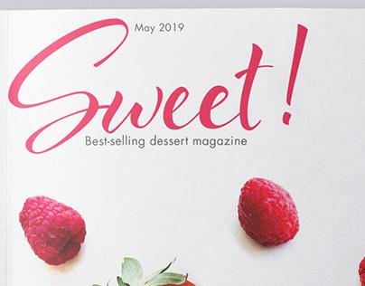 Food Magazine Design