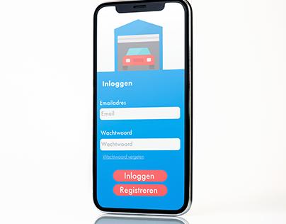 Garage Humans (UX / UI Design project)