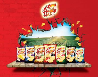 chipsy d'or