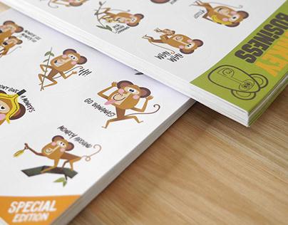 Monkey Stickers