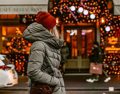 Golden Christmas Lightroom Mobile Presets Photoshop