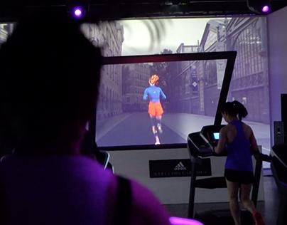 adidas + Stella McCartney Holographic Running Class