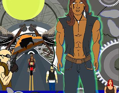 Lone Rider Animation