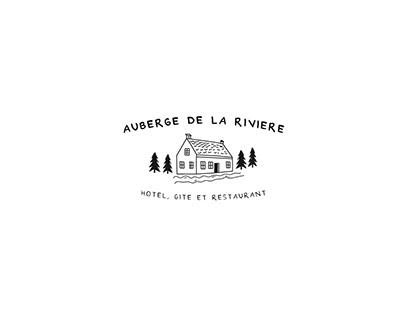 Auberge de la Rivière - Rebranding