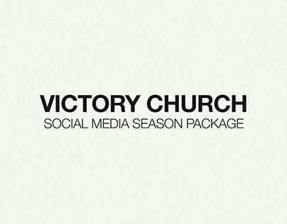 Victory Church - Social Media Package
