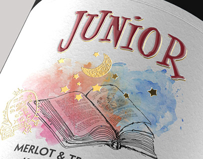 JUNIOR labels - 2011 - 2017 (Young Wine Katarzyna)