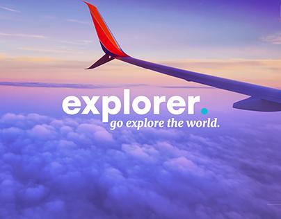 explorer. - travel app