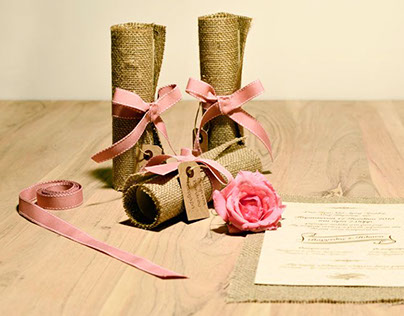 Handmade Weddind Invitations