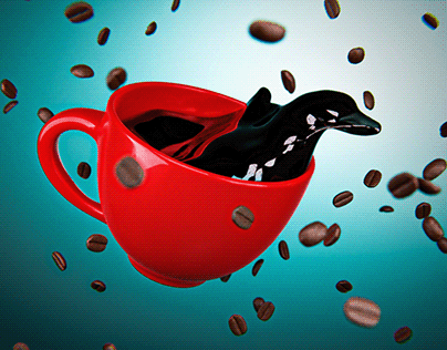 coffee time 3D
