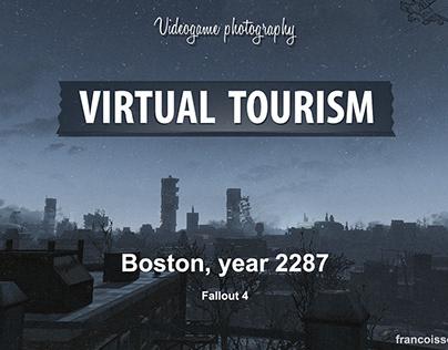 Virtual Tourism in Boston (Fallout 4)