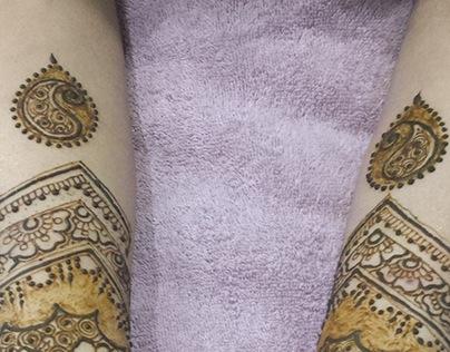 Detail mehndi/henna