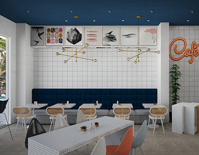 Cafe concept proposal by Zaz Studio
