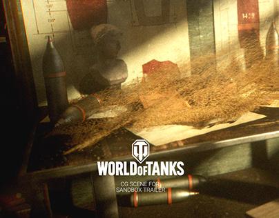 World of Tanks Sandbox Trailer Scene
