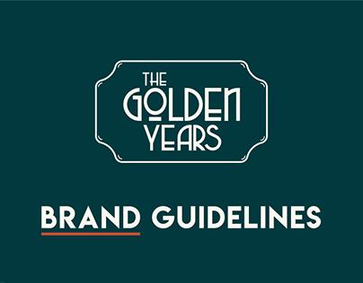 THE GOLDEN YEARS - BRAND IDENTITY GUIDELNES