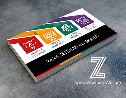 Business Card Design for Graphic Artists