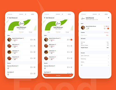 Food Sparrow   Food ordering app for corporate people