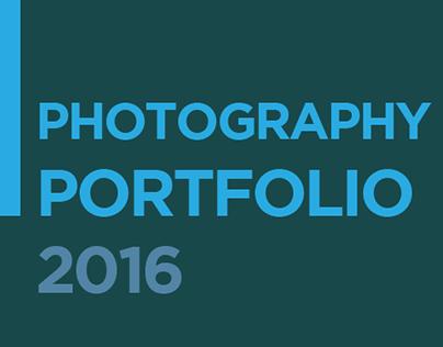 Photography Portfolio 2016