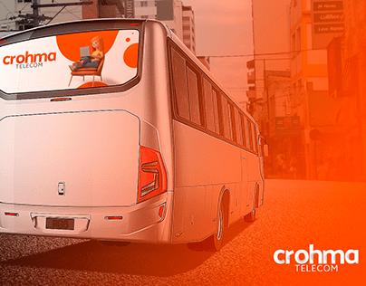 Crohma Telecom - Visual identity