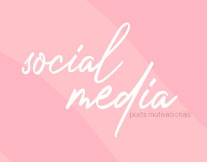 SOCIAL MEDIA | POSTS MOTIVACIONAIS | 2020