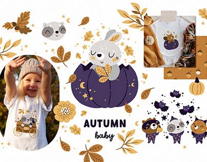 Autumn baby animals