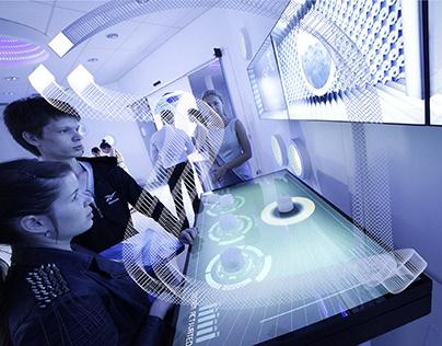 Kent interactive installation (Novosibirsk)