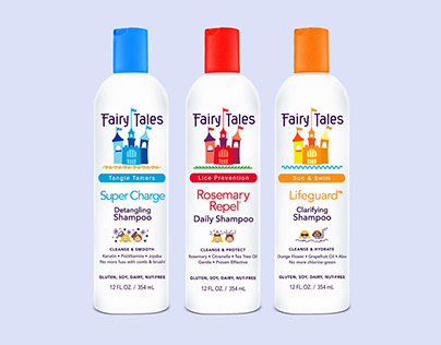 Fairy Tales Hair Care redesign