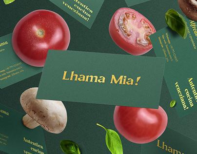 Lhama Mia - Visual ID
