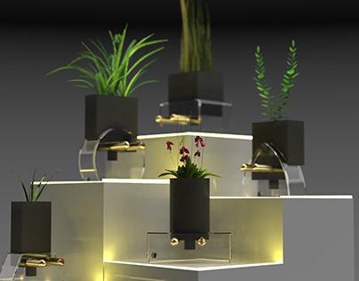 Plug-in : office desk planters