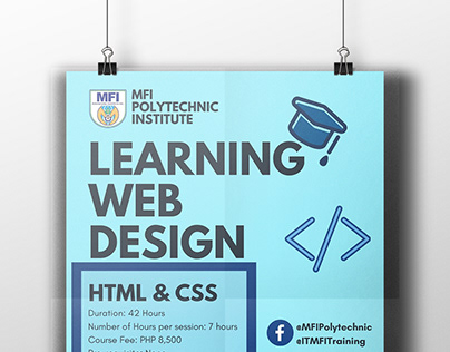 Learning Web Design - Marketing Materials