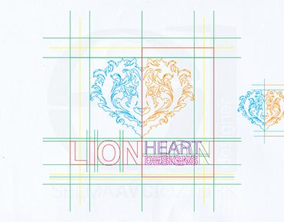 Logo Design and Logo Guidelines / LionHeart Designs