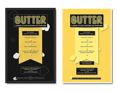 BUTTER // A Night of Pop Culture and Popcorn