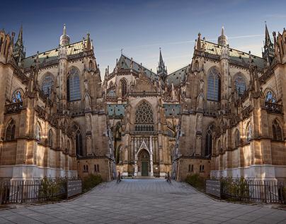Perspektive II Kathedrale