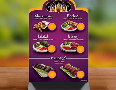 Menú y Fotografía gastronómica EL SULTAN