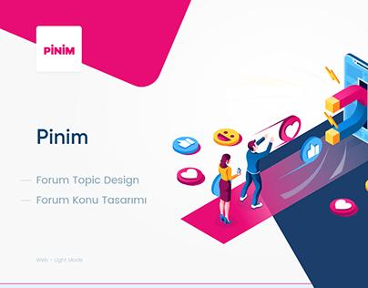 Pinim Topic Design