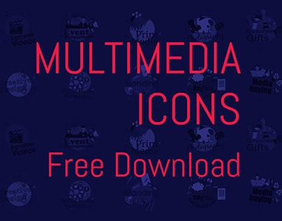 Free Multimedia Icons