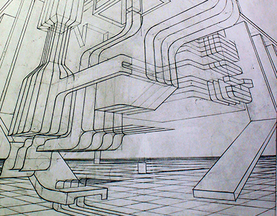 3points-Perspective drawing