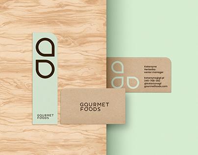 Gourmet Foods branding