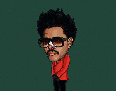 The Weeknd illustration