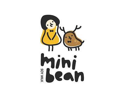 Mini Bean 迷你豆豆漿專賣   品牌視覺設計 Branding Design