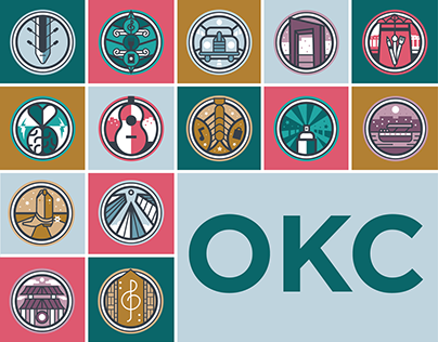 Icons for Oklahoma City Districts