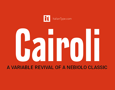 Cairoli - A Variable Revival of a Nebiolo Classic