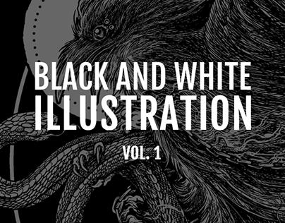 Black and white illustration Vol. 1