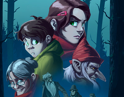 The secret of Bråfall - Trolls in the woods