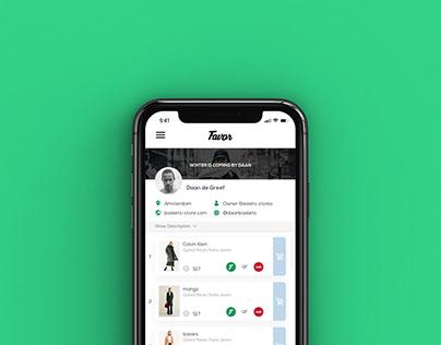 FAVOR - Fashion App