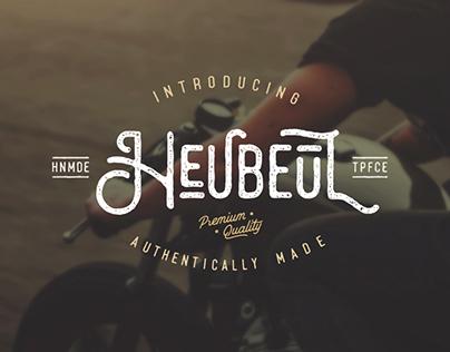 Heubeul Typeface