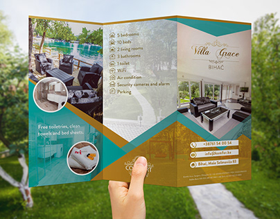 Tree fold brochure