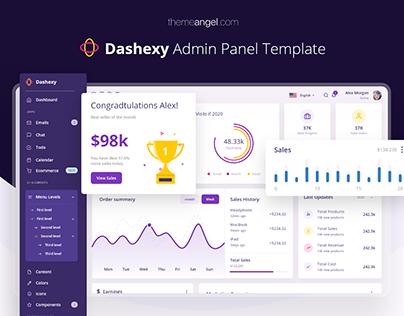 Dashexy Admin Panel