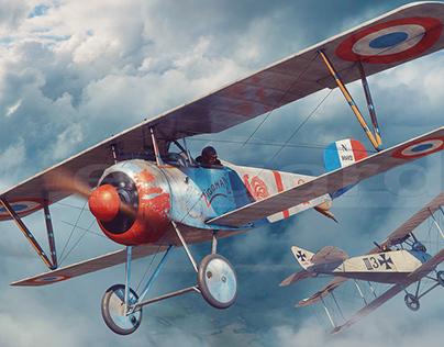 Nieuport 17 Zigomar - Eduard Model Accessories boxart