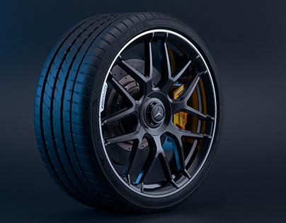 2018 AMG Mercedes Benz E63 S Premium Wheel