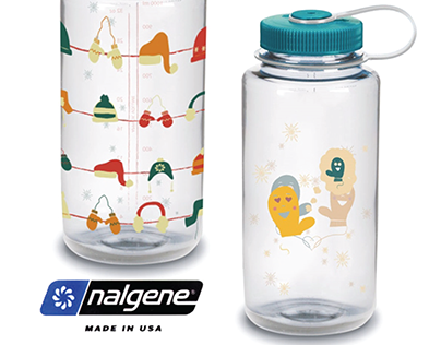 Nalgene Holiday Bottles